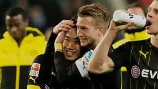 getlinkyoutube.com-Reus & Kagawa - Goals & Assists & Goal celebrations