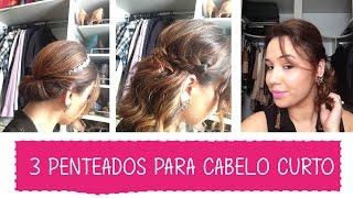 getlinkyoutube.com-3 Penteados rápidos e fáceis para cabelos curtos - Tutorial   Blah!Blog