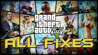 Fix to all the possible ERRORS in Grand Theft Auto 5  ( GTA 5 ) ( PC )