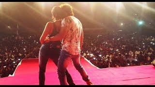 getlinkyoutube.com-Khesari Lal Yadav  and Gloory Moohanta live performance at Ram Leela Maidan, Malad