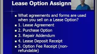 getlinkyoutube.com-Lease Option Assignments - how they compare with Wholesaling, Retailing - Rehabbing, and Sub2