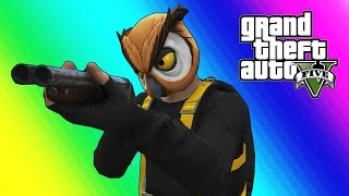 getlinkyoutube.com-GTA 5 Online Funny Moments - Bubble Daryl Shotgun & Sumo Gamemode (Give Birth!)