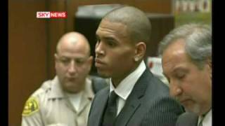 getlinkyoutube.com-Chris Brown Sentenced For Beating Up Rihanna