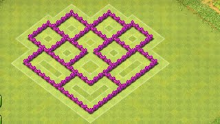 Clash of Clans - Town Hall 6 (TH6) Trophy/War Base