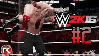getlinkyoutube.com-WWE 2K16 | เอาแชมป์ตรูคืนมา !! #2