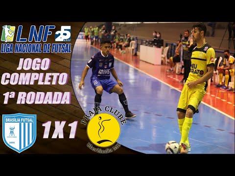 JOGO COMPLETO: Brasília Futsal 1 x 1 Praia Clube - 1ª Rodada LNF 2020 (25/08/2020)