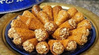 كورني معسل من حلويات رمضان السهلة و الاقتصادية مع طبخ ليلى