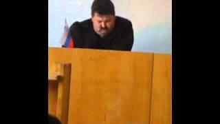Спящий судья.wmv