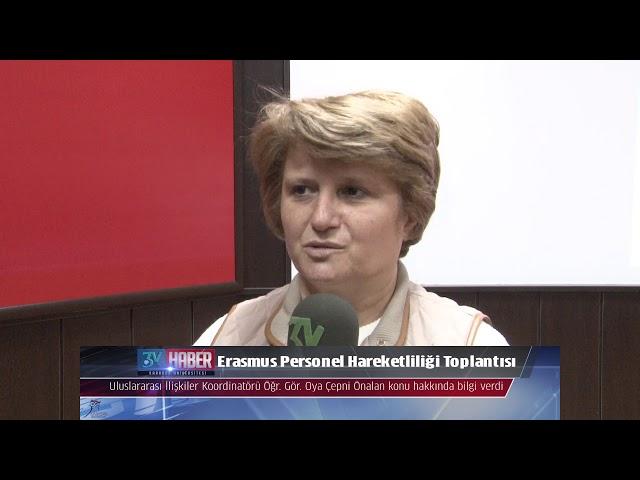 Erasmus Personel Hareketliliği Toplantısı