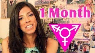 getlinkyoutube.com-1 month on hormones MTF