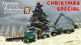 getlinkyoutube.com-Farming Simulator Christmas Forestry Special 2014