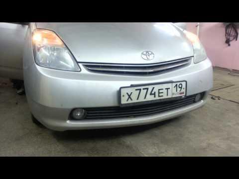 Toyota Prius - ДХО реле без колхоза 2