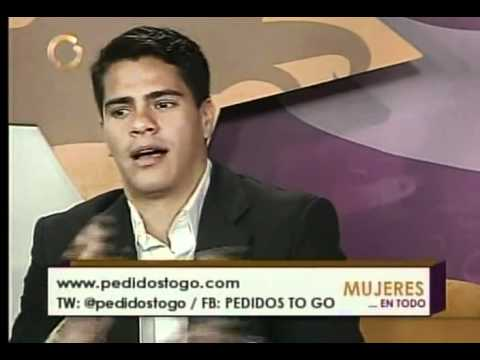 Globovisión entrevista programa Mujeres en Todo con PedidosToGo.com