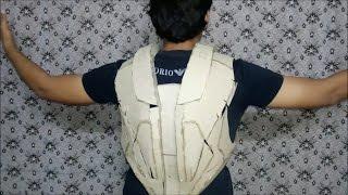 "getlinkyoutube.com-Iron man Suit Mark VI ( Mark - 6 ) part-6 "" Back "" (Card Board)"