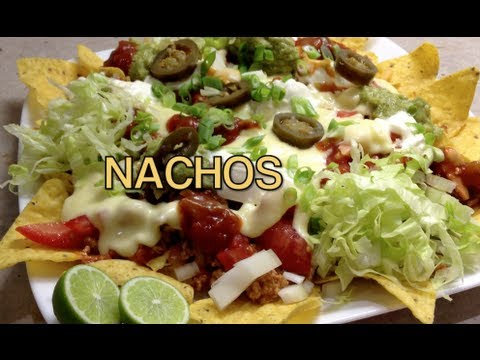 How to make Nachos Video Recipe cheekyricho