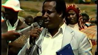 Ethiopia, Derg Charged Criminals Exposure, partial, 1992