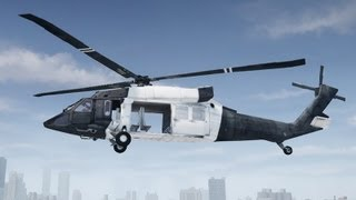 GTA 4 Black Hawk Helicopter (Black Ops II)