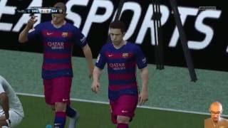 Gladbach 1:2 FC Barcelona |LIVESTREAM| UCL Champions League 28.09 Lets Play FIFA 16