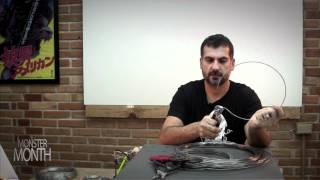 getlinkyoutube.com-HOW TO BUILD WIRE ARMATURES FOR SCULPTING DESIGNS - MONSTER MONTH - PREVIEW 1