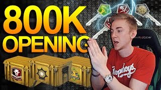 getlinkyoutube.com-CS:GO - 800k Case Opening!