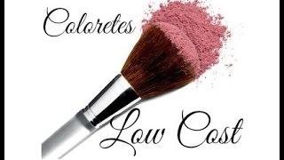 """getlinkyoutube.com-Productos Low cost """"Coloretes"""" - Claudiamakeup3"""