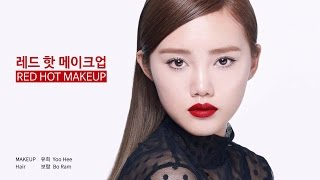 getlinkyoutube.com-Red Hot Makeup - 레드핫 메이크업