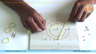 getlinkyoutube.com-Geometry Board to understand properties of circle | Math Projects | Butterfly Fields