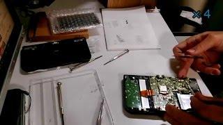 new3DSLL 上液晶リペア 作業動画