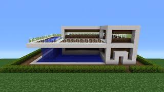 Minecraft Tutorial: How To Make A Quartz House - 11