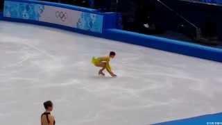 2014 Sochi Olympic 김연아 Yuna Kim SP Dress rehearsal Fancam (드레스 리허설)