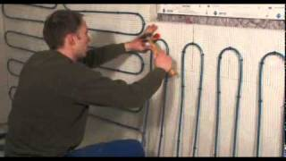 getlinkyoutube.com-Panel heating system with mats for homes (wall heating) - perfect comfort