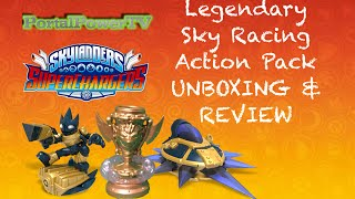 getlinkyoutube.com-Skylanders SUPERCHARGERS   Legendary Sky Racing Action Pack UNBOXING