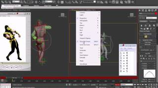 getlinkyoutube.com-UMK3 Scorpion 3D animation Stumble _Part 01