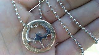getlinkyoutube.com-как сделать мидальон из монеты своими руками.. смотреть всем