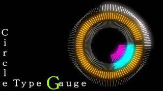 getlinkyoutube.com-【AviUtl】サークル型ゲージ&サークル型音波ゲージ【拡張編集】