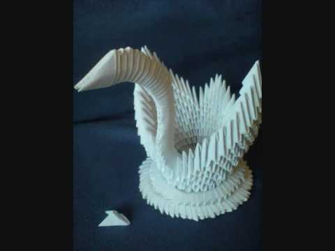 Videos Related To 'how To Make A 3d Origami Swan tutorial B