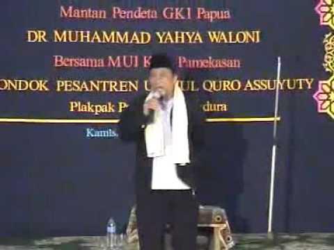 8 Mantan pendeta M yahya Waloni