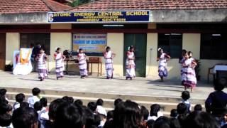 getlinkyoutube.com-AECS NARWAPAHAR CHILDREN'S DAY SANTHAL TRADITIONAL DANCE 2014