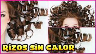 getlinkyoutube.com-RIZAR TU CABELLO SIN CALOR ♥♥♥ CURL YOUR HAIR WITHOUT HEAT ♥♥♥ Andy Lo