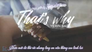 getlinkyoutube.com-[Vietsub + Kara] That's why - Baek Yerin