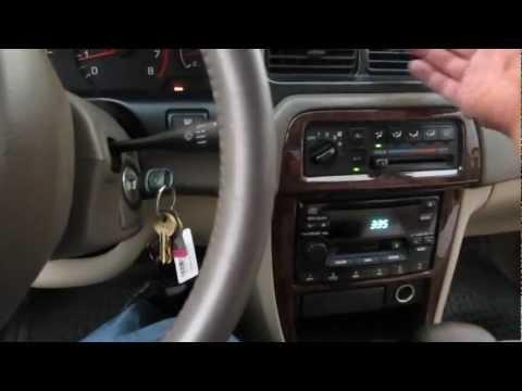 2000 Nissan Altima Cabin Filter