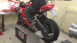 getlinkyoutube.com-Ducati Panigale 899 with Termignoni and Rexxer on the Dynojet