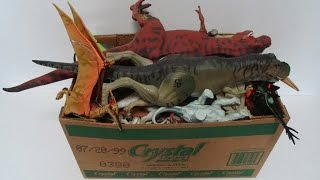 getlinkyoutube.com-What's in the box: Jurassic Park toys! Dinosaurs, Action Figures, Vehicles!