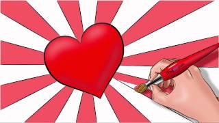 getlinkyoutube.com-Como dibujar un corazon paso a paso!  con dibujart.com