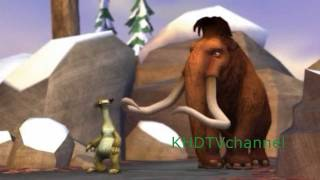 Ice Age 3 Dawn of the Dinosaurs PC Walkthrough part 2 - Baby Proofing and The Pursuit