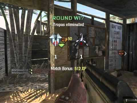 SnD Double Frag Game winning kill Call of Duty: Black Ops