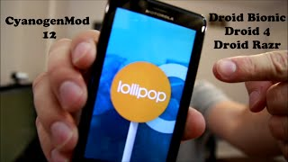 getlinkyoutube.com-How to install Android 5.0.2 Lollipop on the Motorola Droid Bionic, Droid 4 and Droid Razr