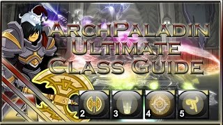 getlinkyoutube.com-AQW: ArchPaladin Ultimate Class Guide (Soloing, PVP, Enhancements,Review)