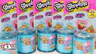 getlinkyoutube.com-SHOPKINS Food Fair Candy Jars/Containers, Fashion Tags and Stickers!