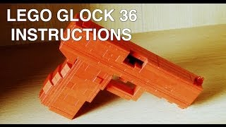 getlinkyoutube.com-Lego Glock 36 instructions / tutorial / howto